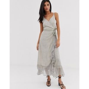 NWT AllSaints Dayla Speckle Midi Dress
